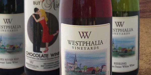 Westphalia Vineyards wine collection