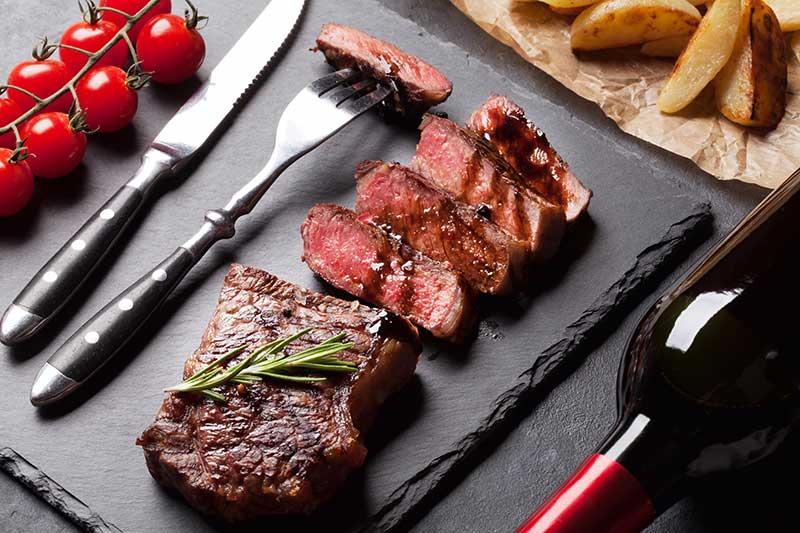 striploin steak recipe