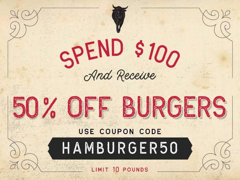Wagyu hamburger meat special offer