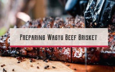 Preparing Wagyu Beef Brisket